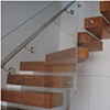 Teak Floating Staircase 