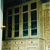 Faux Painted kitchen storage unit. (Dovetail Woodworking)