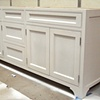 Painted Vanity With Inset Doors