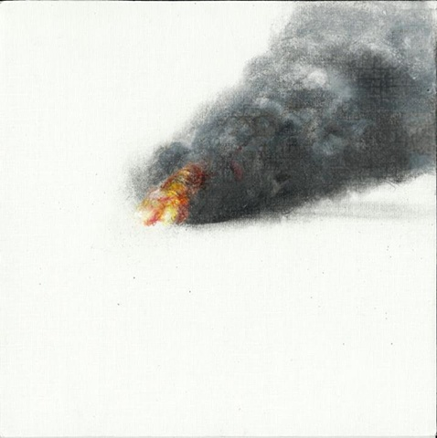 fire drawing contemporary