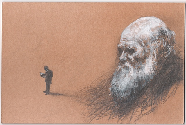Illustrations for Charles Darwin article