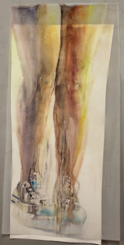 Untitled (hanging legs)