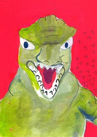 Godzilla Red