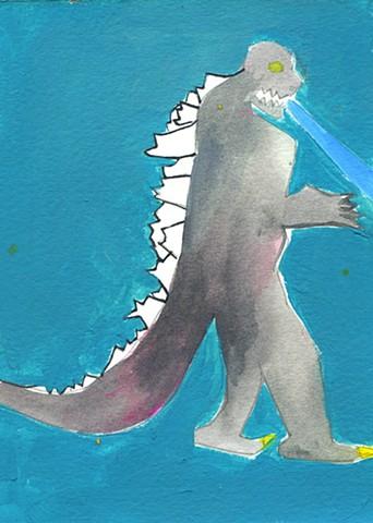 Digital Godzilla