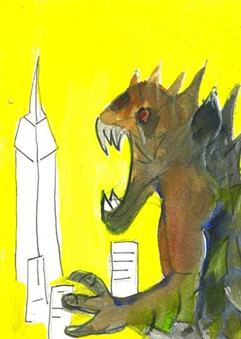 Godzilla in New York