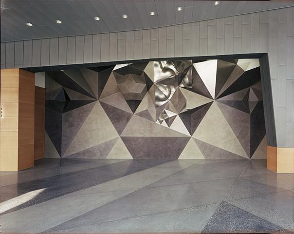 Passacaglia,permanent installation, Russell/Wanlass Performance Hall,  Nora Eccles Harrison Museum of Art