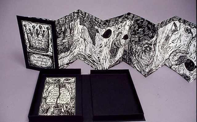 Portrait of the Artist book with clamshell case