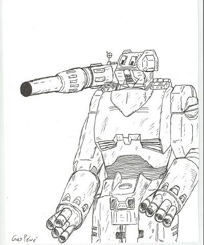 Gun robot