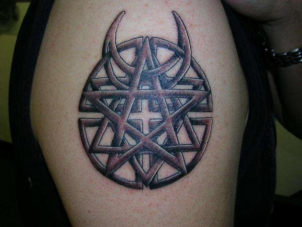 Pin Disturbed Logo Tattoo on Pinterest