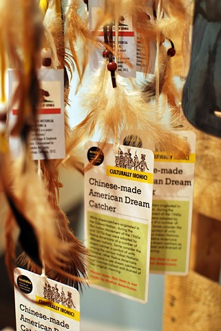 Chinese-Made American Dream Catcher 2012 Repackaged dream catcher