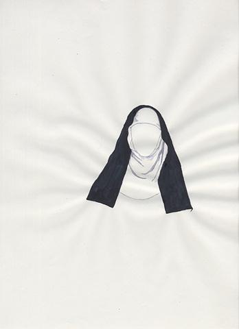 Nun (Geraldine Farrar in Suor Angelica_Opera)