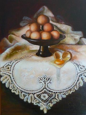 egg fallen