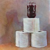 Balance IV or  Zerocola on Toiletpaper