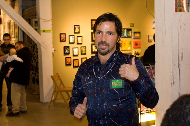 Photo Credit Timmy Samuel - co-curator Jason Messinger