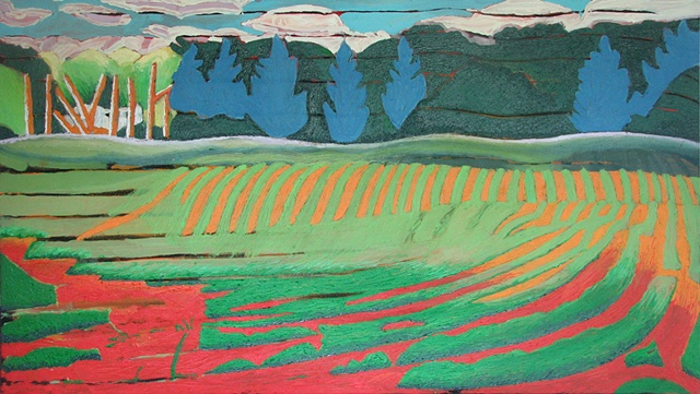 Field Underpainting 2