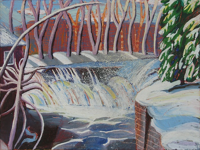 Winter Waterfall 1