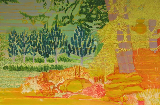 Molly's Garden Underpainting 6