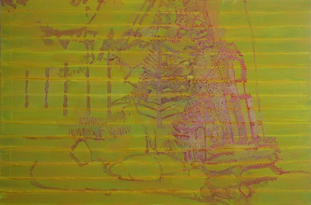 Molly's Garden Underpainting 2