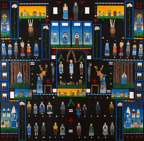 david ruhlman davidruhlmann davidruhlman.com children have small ghosts self taught folkart  www.davidruhlman.com