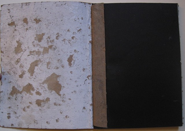 One can never leave, one.  davidruhlman david ruhlman handmade book