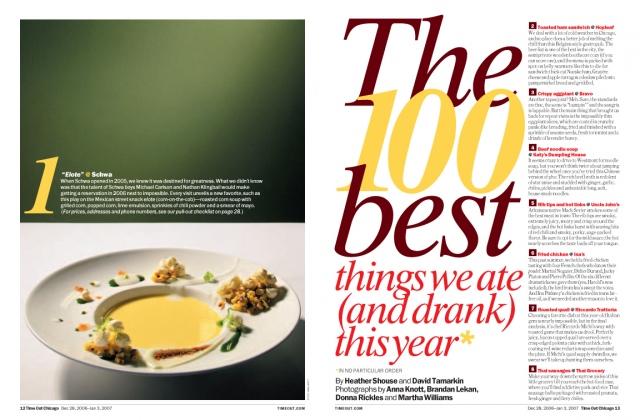 100 Best Eats