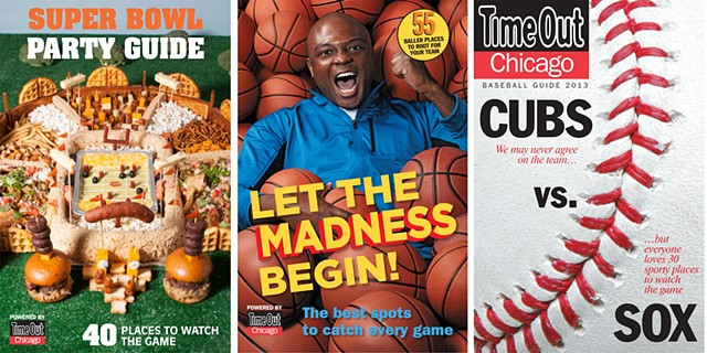 Sports guide covers