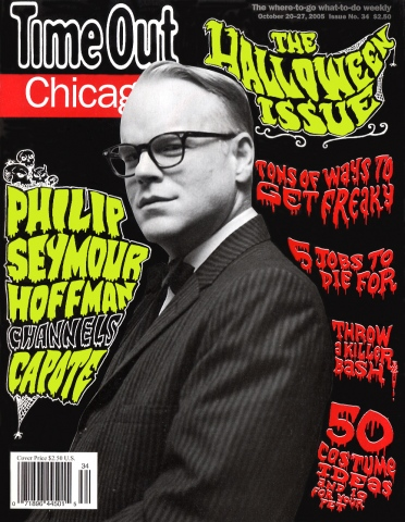 Halloween cover with Philip Seymour Hoffman