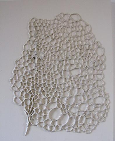 art, Yvonne Love, relief sculpture