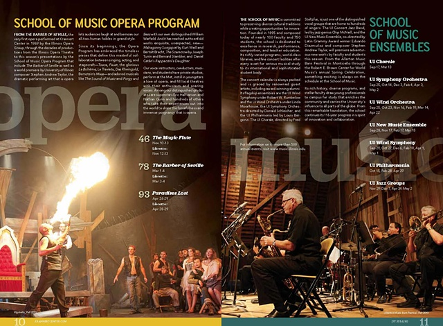 Pages from Krannert Center for the Performing Arts 2011-2012 Season Brochure