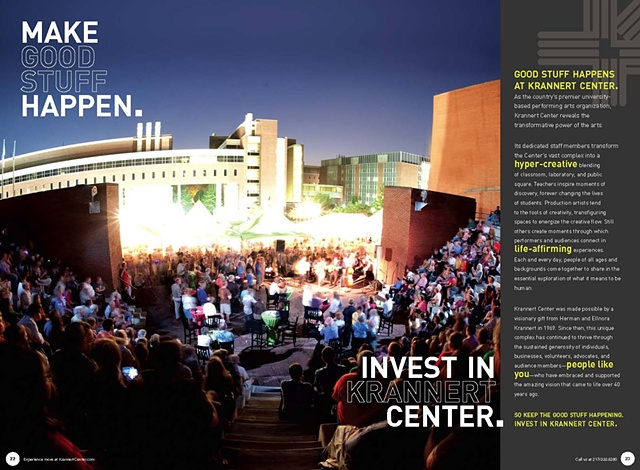 Pages from Krannert Center for the Performing Arts 2010-2011 Season Brochure