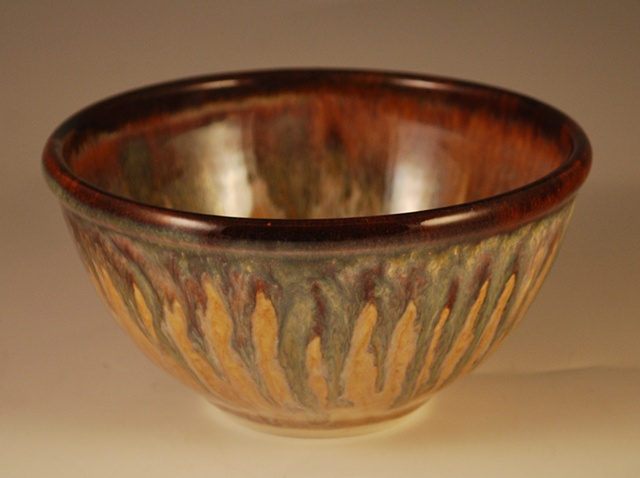 Small Rutile-goldstone bowl