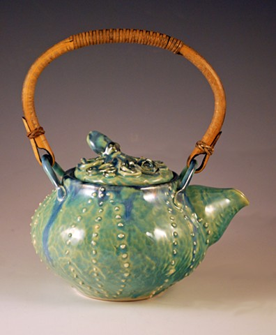Octopus Teapot with two cups