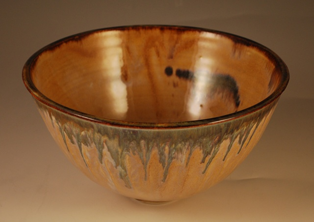Medium Rutile-goldstone bowl