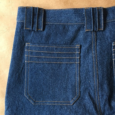 Jeans Pocket Detail