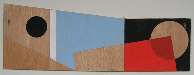 Plywood Painting No.3