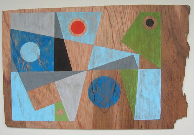 PLywood Painting No.6
