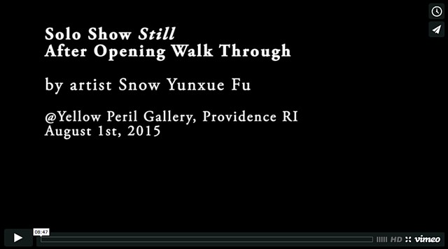 Solo show Still Walk through