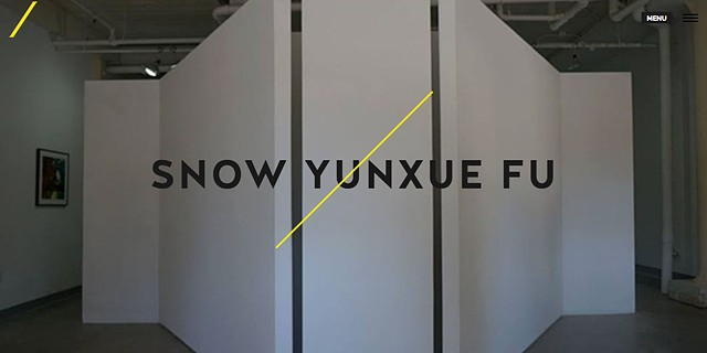 Snow Yunxue Fu at Yellow Peril Gallery