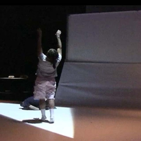 """""""Poppy""""  An architectural, improvisational dance performance/installation conceived by  Emily Puthoff (US)"""