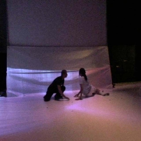 """Poppy""  An architectural, improvisational dance performance/installation conceived by  Emily Puthoff (US)"