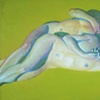 "Title: Dormire  Medium: Oil on canvas  Dimensions: 32"" x 54""  Year: 2008"