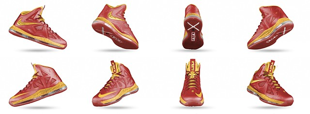 China (Home), Lebron X+ Sportpak
