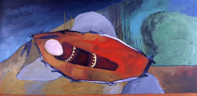 Sealskin Cradle