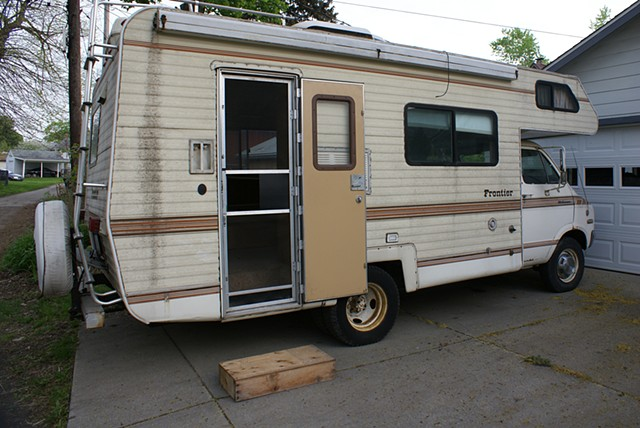 The Camper (prior to installation)