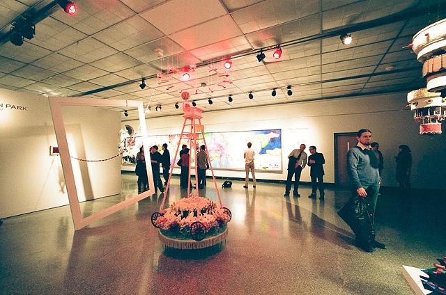 Installation View, MFA Thesis Exhibition, SoFA Gallery, Bloomington, Indiana