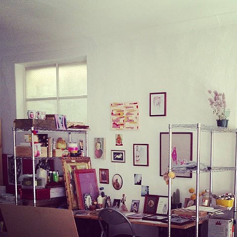 My little space at Tooth and Nail studio, Adelaide