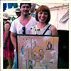 Gorgeous Melbourne family happy with their newest art acquisition 'Amy Joy', at WOMADelaide 2013