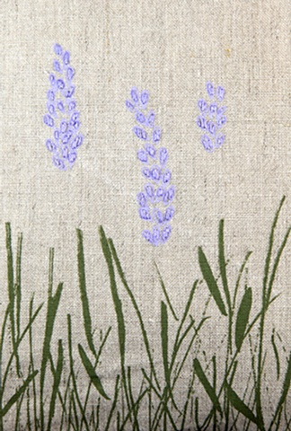 Lavender, detail