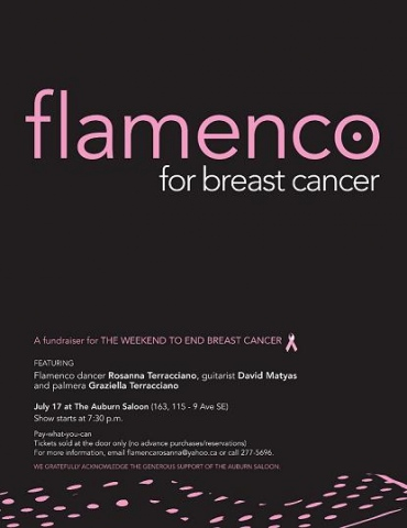 Flamenco for Breast Cancer