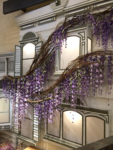 Wisteria houses detail